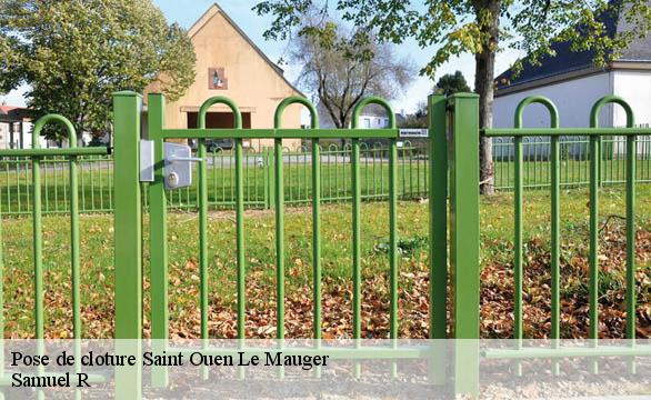 Pose de cloture  saint-ouen-le-mauger-76730